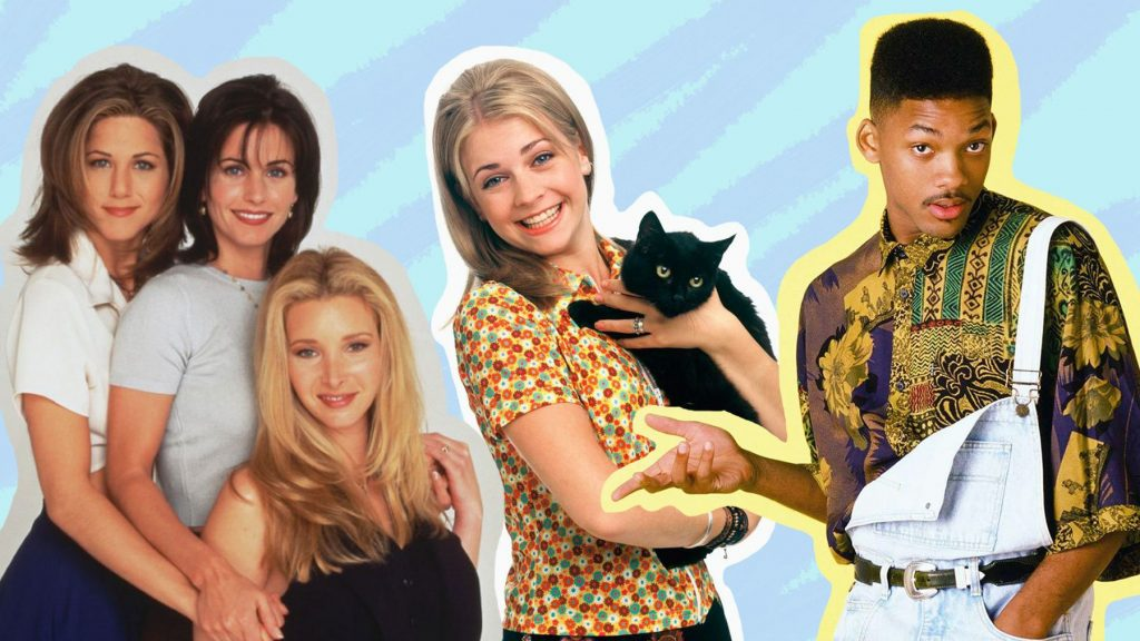 90s music and 90s TV shows